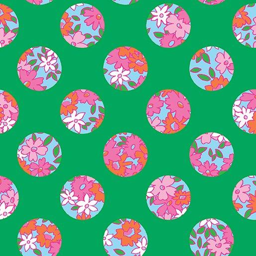 Bahama Breeze - Ditzy Dot (Green)