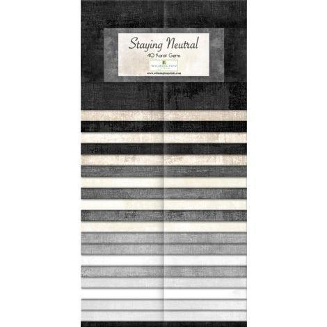 Karat Gems 40 2.5 Strips - Dry Brush Staying Neutral