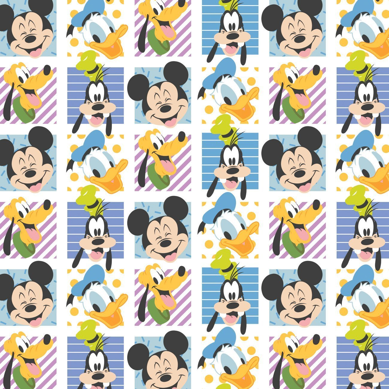 Mickey Mouse - Play All Day Party Blocks (White)
