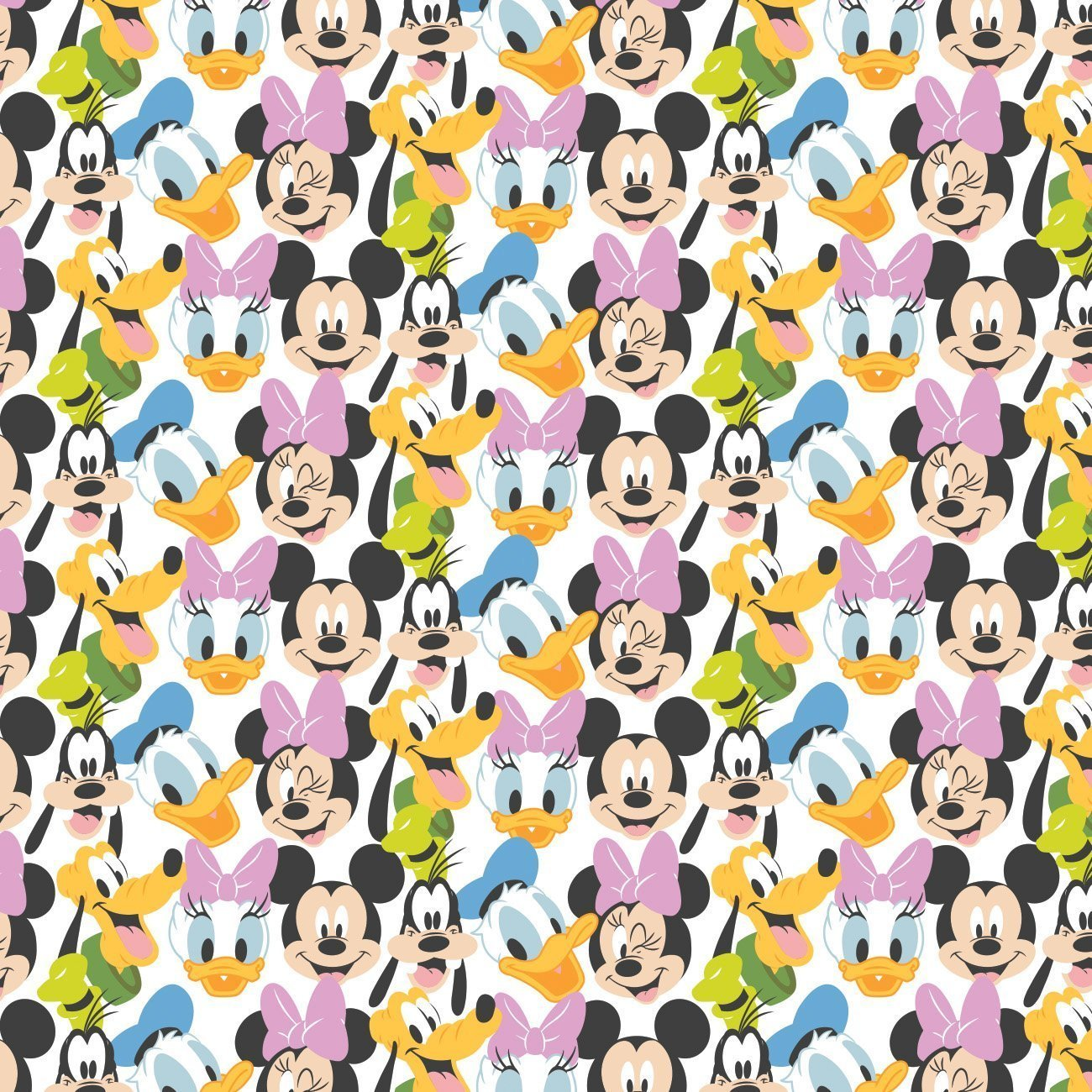 Mickey Mouse - Play All Day Here Comes The Fun (White)