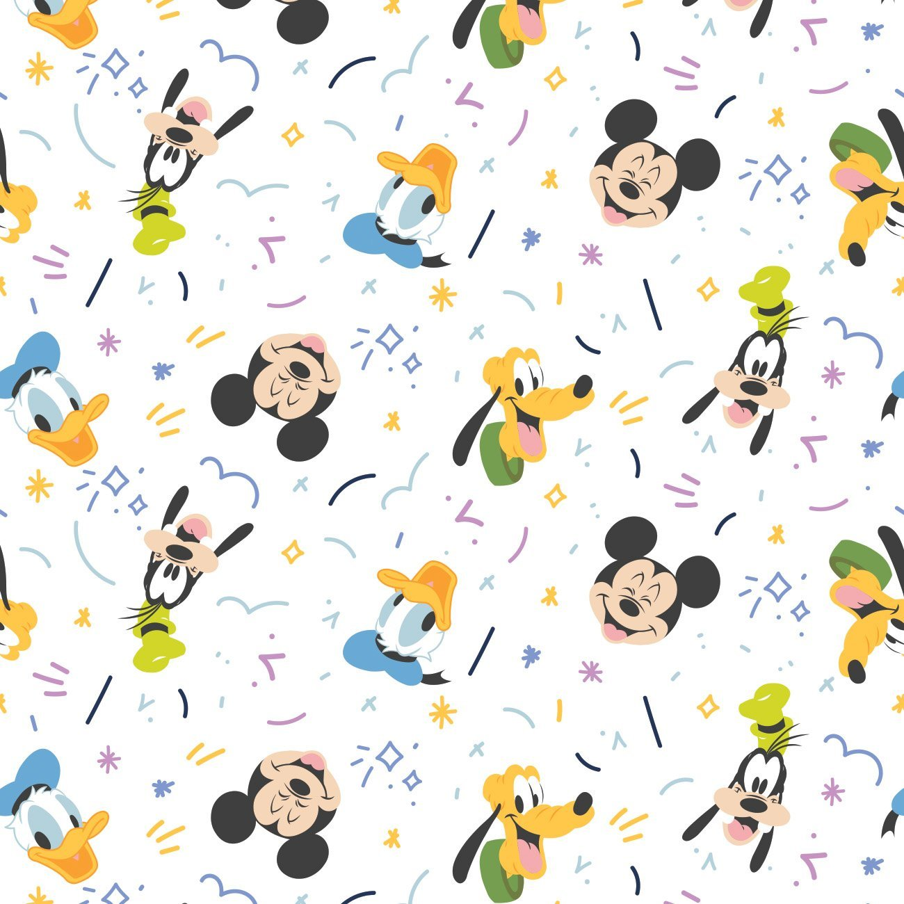 Mickey Mouse - Play All Day Boy (White)