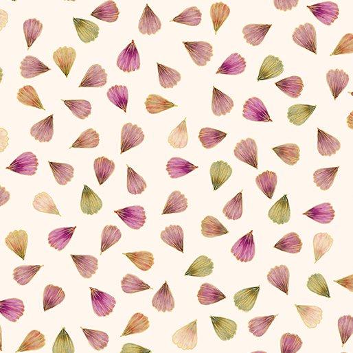 Floral Impressions - Pressed Petals (Cream/Metallic)