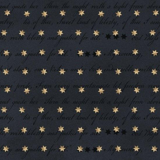 Spirit of America - Words and Stars (Navy)