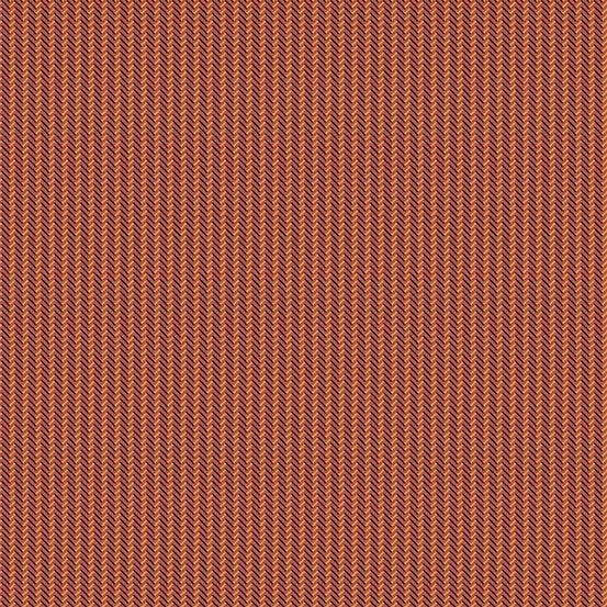 Chatham Hall - Zigzag Stripe (Burnt Orange)