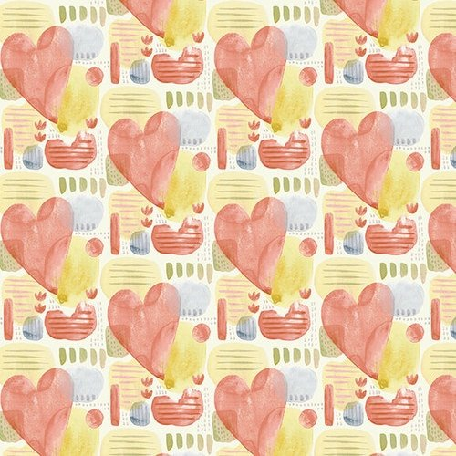 Blessings - Hearts (Multi)