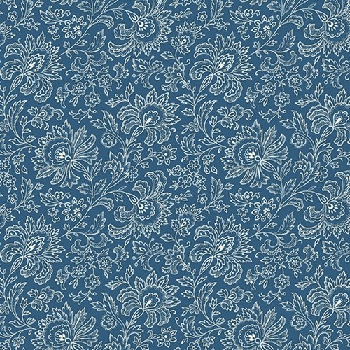 French Chateau - Imperial Floral (Blue)