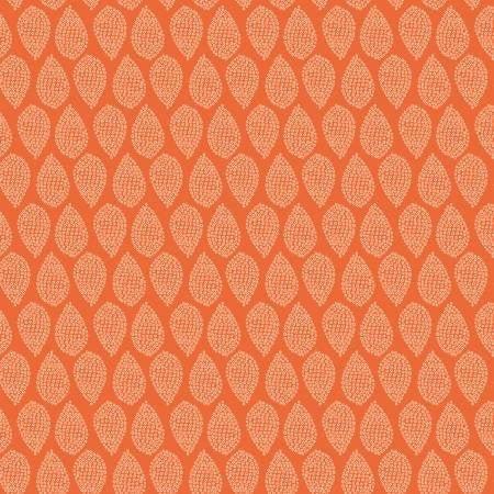 Flower Market - Dotted (Orange)