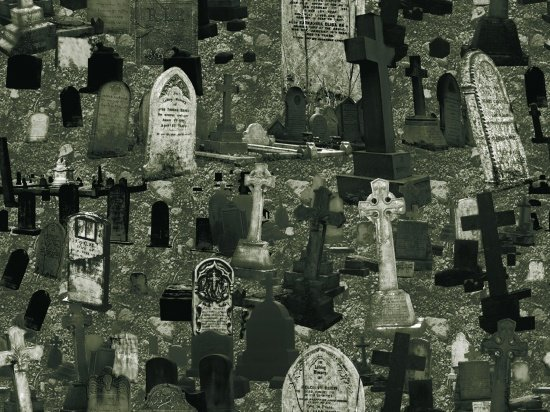 Fright Night - Tombstones (Glow In The Dark)