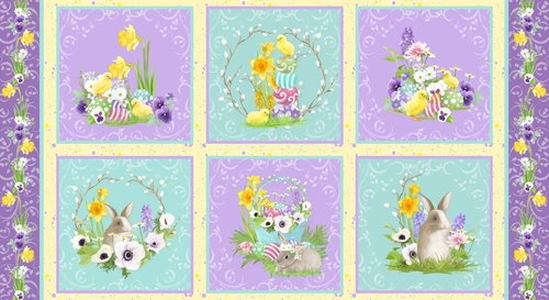 Hoppy Easter - 24 Panel