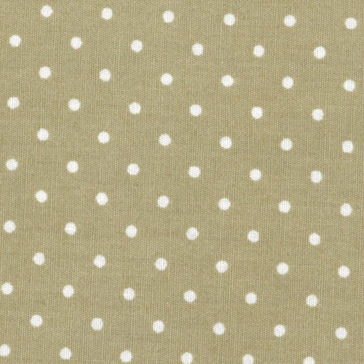 Lots Of Dots - Small Dots (Khaki/White)