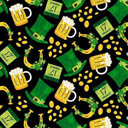 Spring Jubilee - Tossed Hats and Beer (Black)