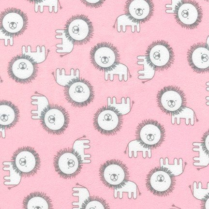Penned Pals Flannel (Baby Pink)