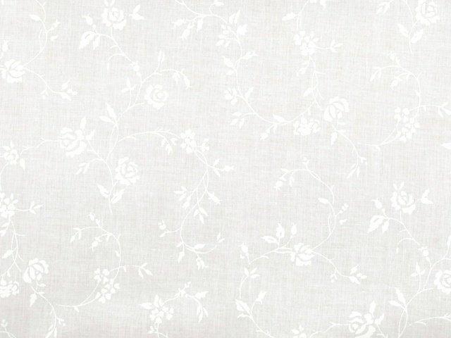 Rose Vine 108 WIDE (White)