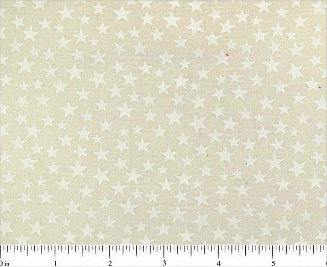 Solid Stars 108 Backing -  (Natural)