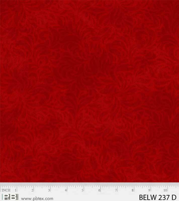 Bella Suede Wideback 108 - (Dk. Red)