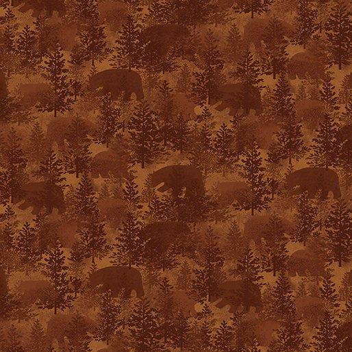 Bear Paws - Bear Crossing (Rust)
