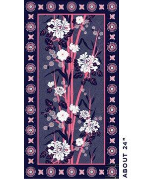 Lily Panel - Denim/Pink