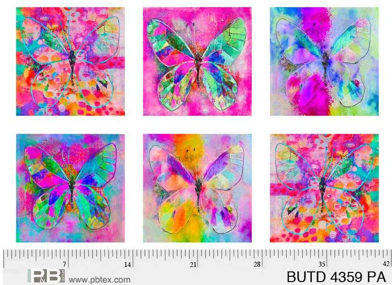 Butterfly Dreams - 27.5 Panel - DIGITAL PRINT