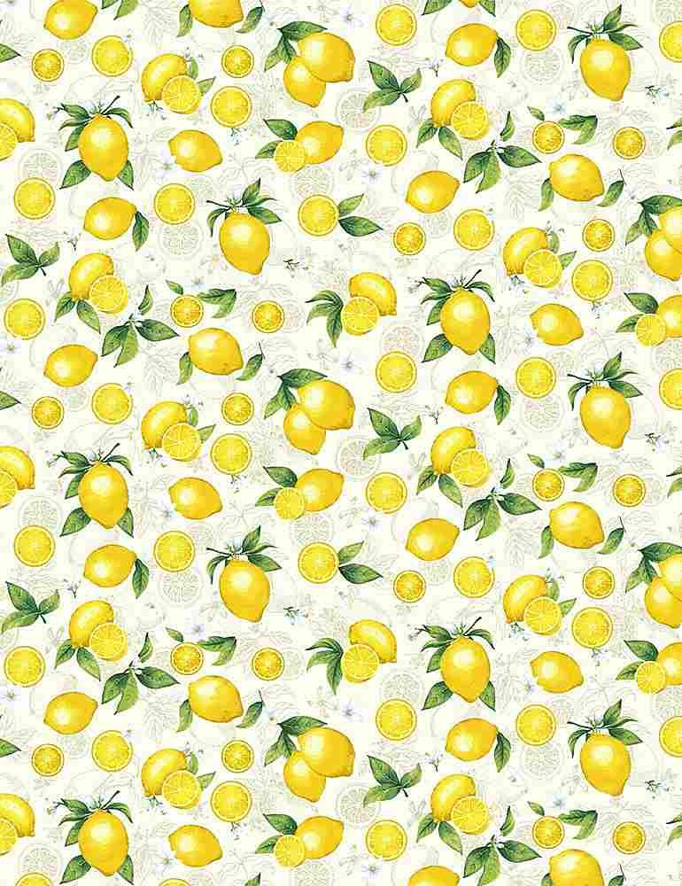 *Small Etched Lemons (Cream)