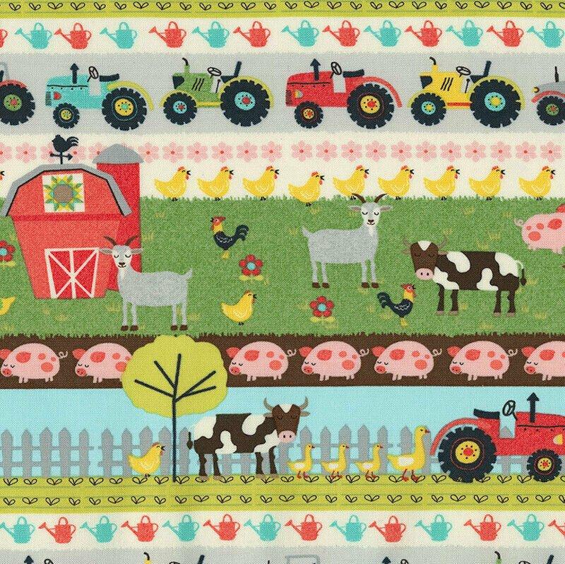 Farm Stripe (Multi)