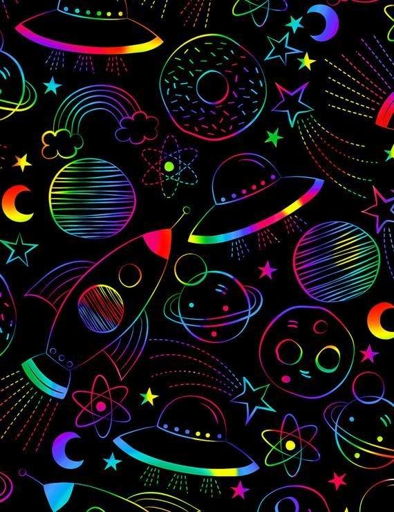 *Drawn Rainbow Science (Black)