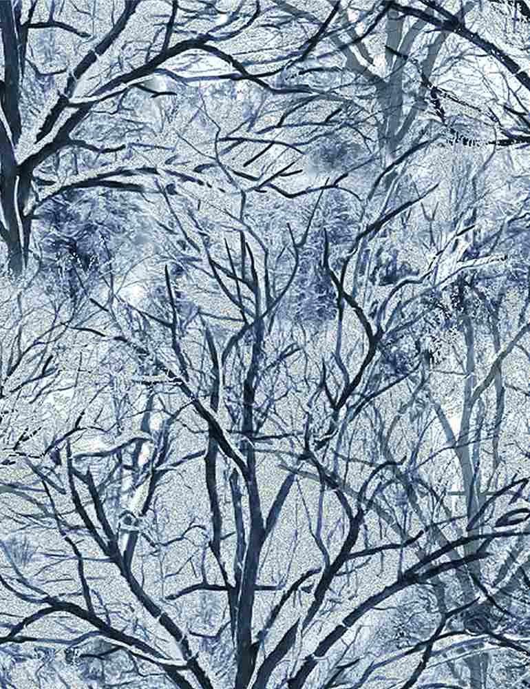 Bare Trees (White)