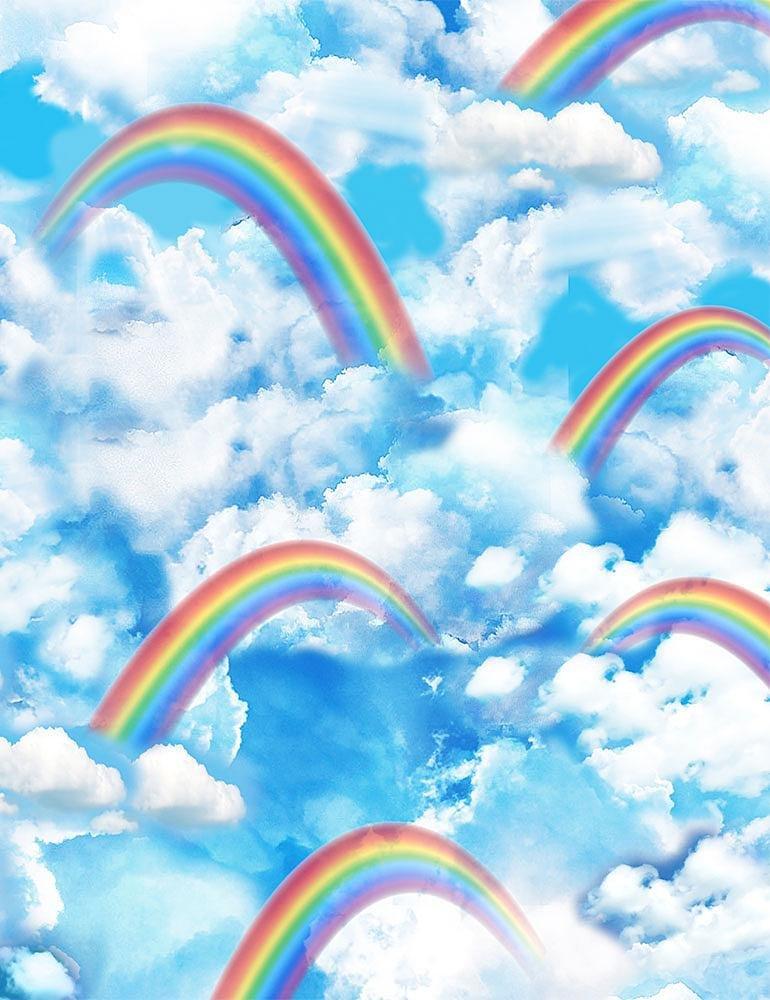 *Rainbows & Clouds Sky (Bright)