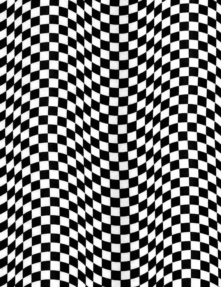 *Black & White Checkered Flag