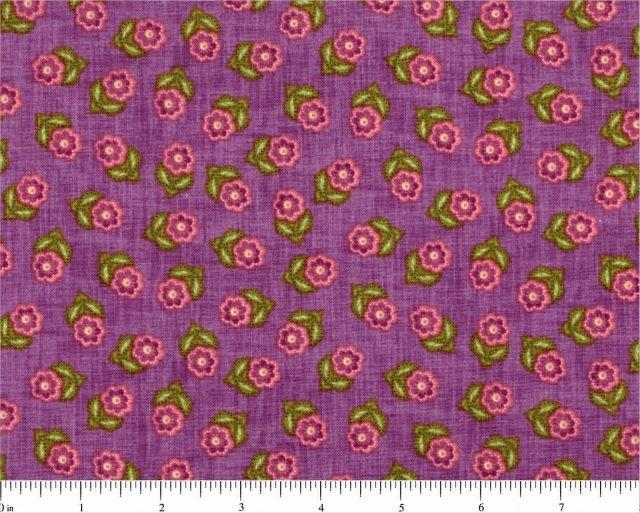Blooming Paisley - Flowers (Purple)