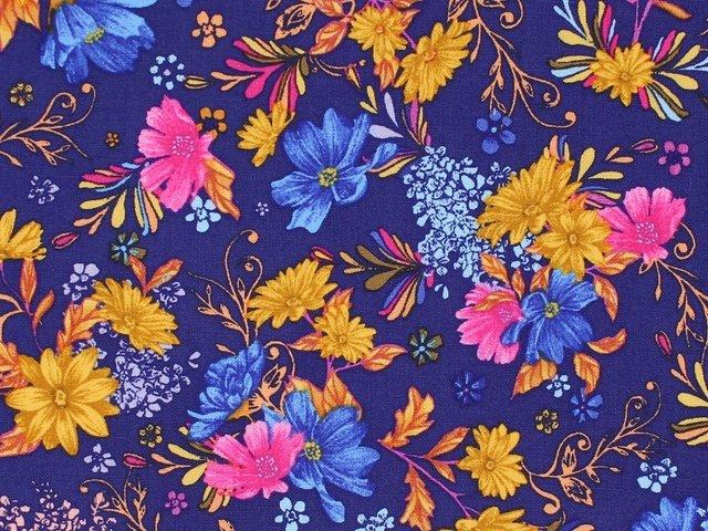 Flower Garden - Floral (Purple)