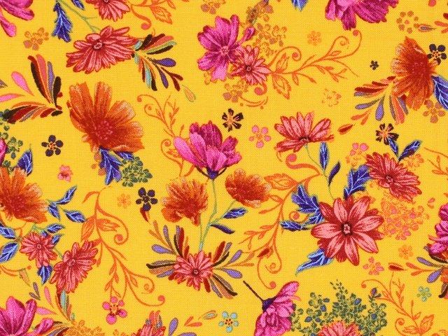 Flower Garden - Floral (Yellow)