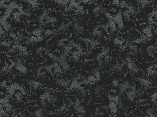 Tonal Leaf 108 WIDE (Black)