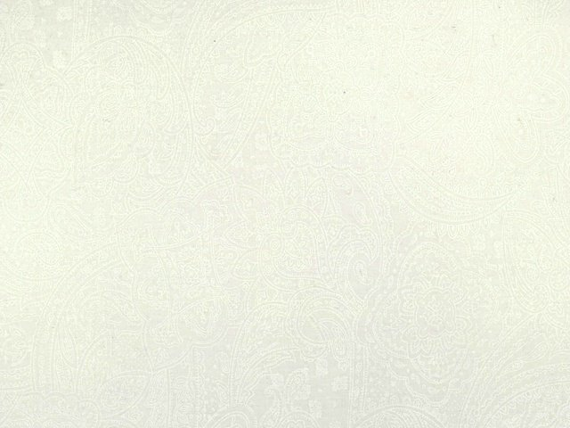 Paisley 108 WIDE (White)