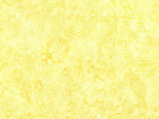 Paisley 108 WIDE (Buttercup)