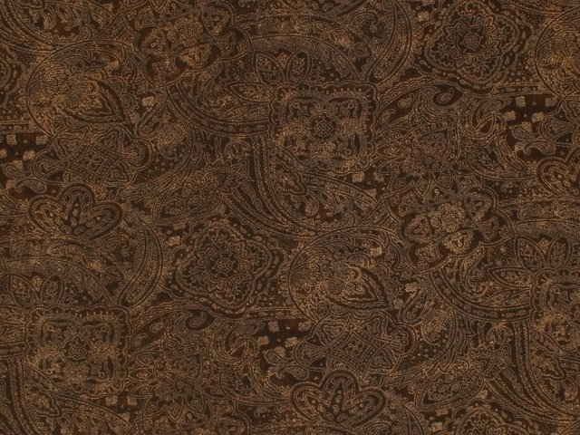 Paisley 108 WIDE (Brown)