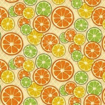 *Citrus Grove - Citrus Slices (Beige)