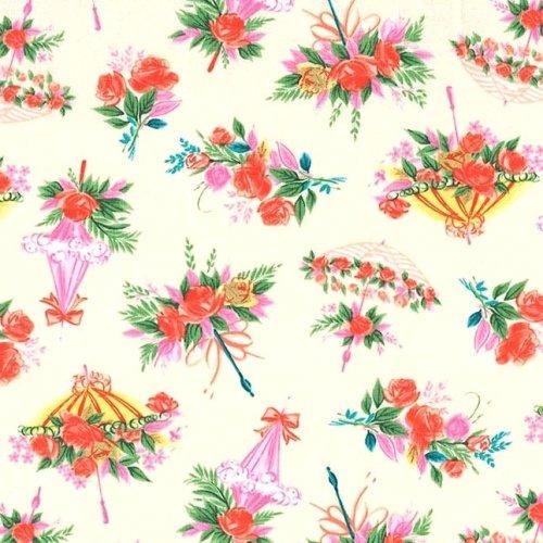 Parasol Bouquet (Ecru)