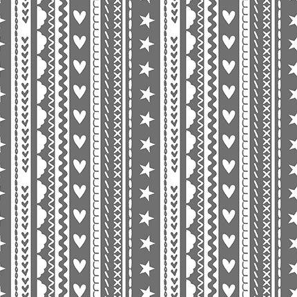 Celestial Stripe (Gray)