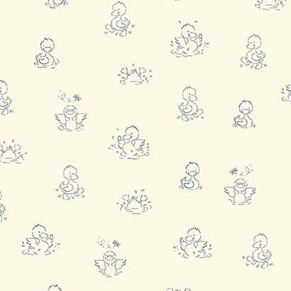 Ducks In A Row - (Cream)