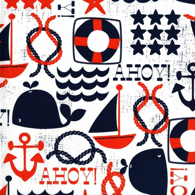 Ahoy Matey (Navy)