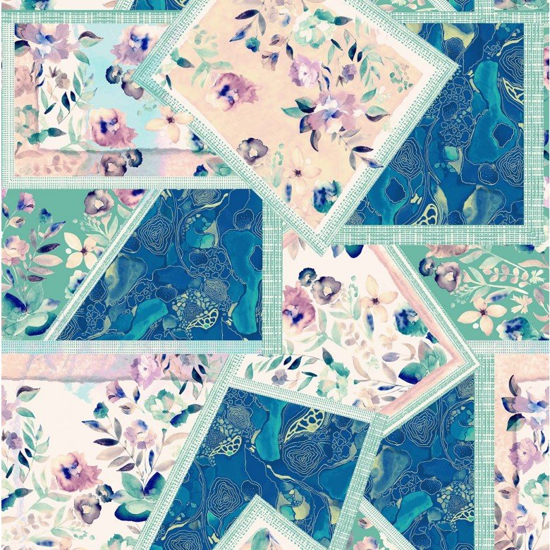 Crystal Garden (Turquoise)