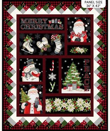 Farmhouse Christmas - 34 Panel