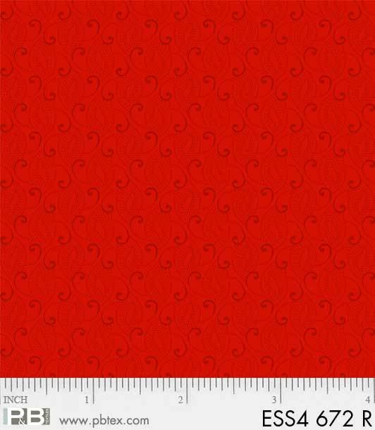 Bear Essentials 4 - Small Swirls (Red)