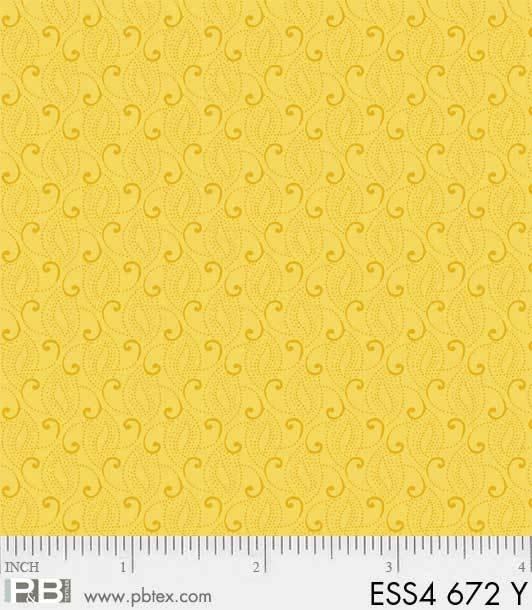Bear Essentials 4 - Small Swirls (Yellow)