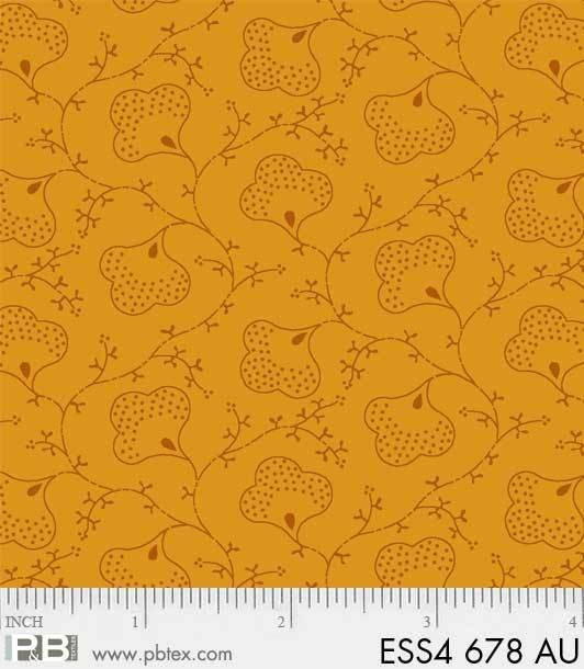 Bear Essentials 4 - Floral (Gold)