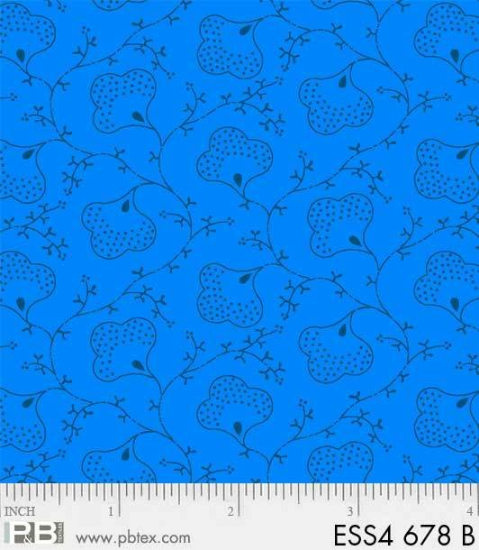 Bear Essentials 4 - Floral (Blue)