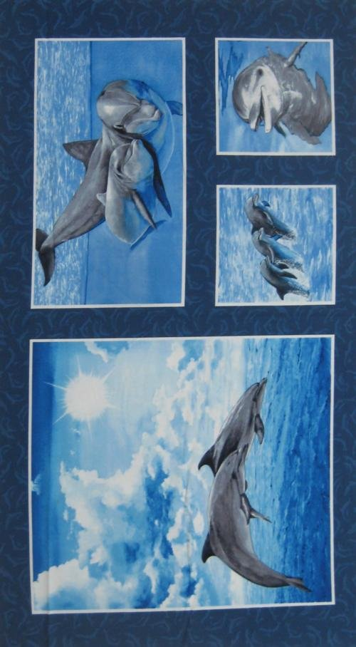 Make A Splash - Dolphin Panel