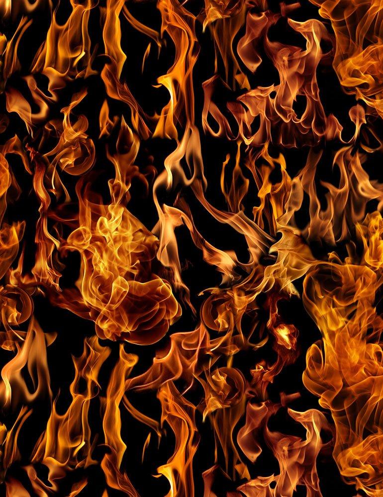 *Flames (Black)