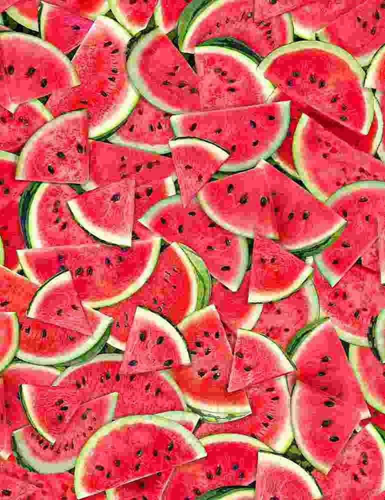 *Packed Watermelon Slices (Pink)