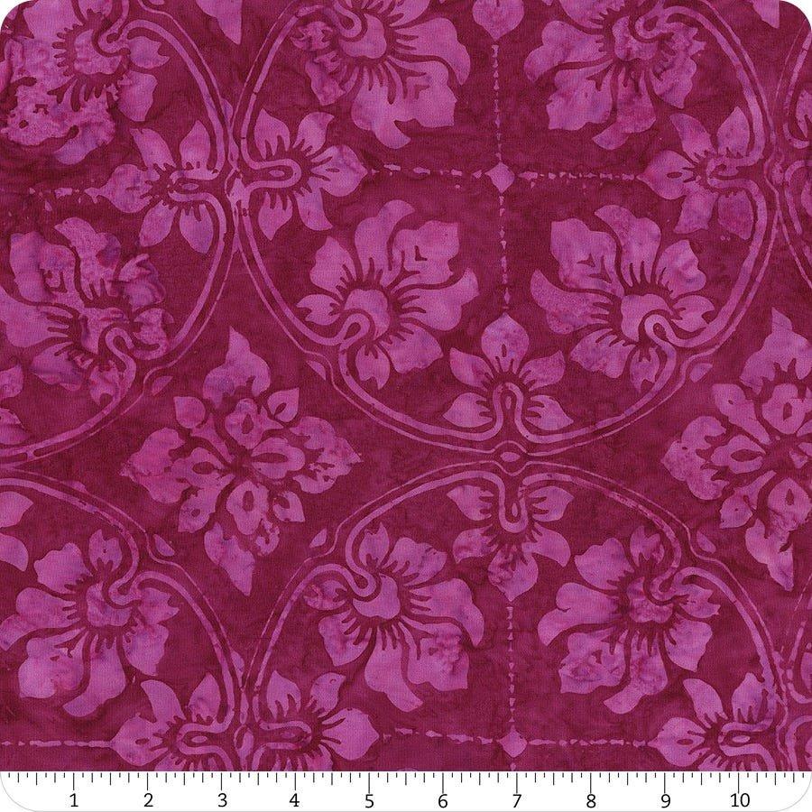 Tonga Batiks - Wallpaper (Magenta)